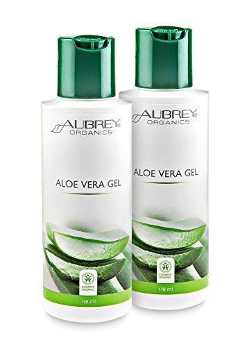Aloe Vera Gel-paket (Aloe Vera Gel 118ml 2er SET (2 x 118ml = 236ml) + Pumpsprayaufsatz)