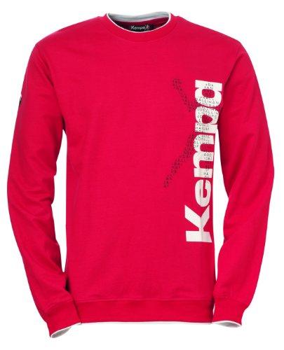 Kempa - PLAYER - Maglione sportivo da uomo, Rosso, XXS