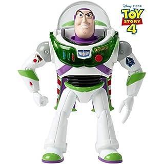 Mattel GGH41 - Toy Story 4 Buzz Lightyear Figur mit Sound und Features, 17 cm Spielzeug Action Figur ab 3 Jahren