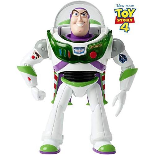 Mattel Disney Toy Story 4-Buzz Lightyear ¡hasta el infinito y más allá, juguetes niños +3 años GGH41, multicolor, Talla… 2