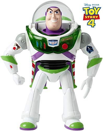 Mattel- Disney Toy Story 4-Buzz Lightyear ¡hasta el...