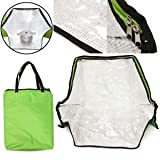 Green Portable Solar Oven Bag Cooker Sun Cooking for Outdoor Camping Travel