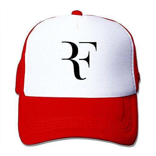 XCarmen Customized Roger Federer 2015 Wimbledon Men/Women Baseball Caps Trucker Hat Adjustable 100% Nylon By JE9WZ Red