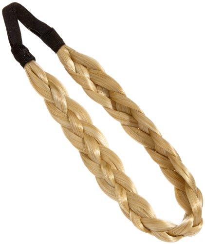 Love Hair Extensions Doppel-Braid Band (Flecht-Haarband) Farbe M2460 - Sonnenblond/klares Blond, 1er Pack (1 x 1 Stück)