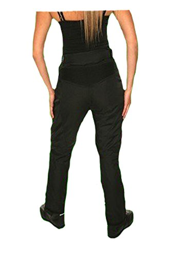 donna-pantaloni-moto-termici-Jazz-CE-protettori-impermeabile-Black-Dimensioni-40