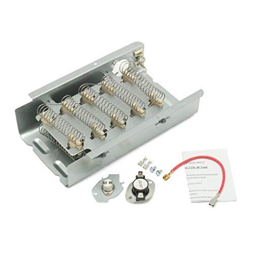 Yongse 3403585 Trockner Heizelement Thermostat Kit für Whirlpool Kenmore Maytag Estate -