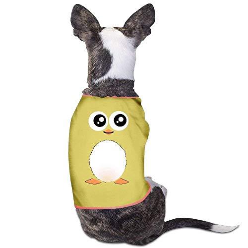 GSEGSEG Gseg süßes schwarzes Pinguin-Hunde-Kostüm für Hunde und Katzen, aus Polyester