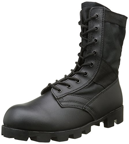 Mil-Tec US Army Combat Assault Vietnam Jungle Boots Mens Security Cadet Black