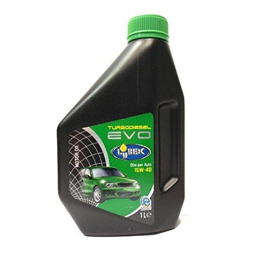 LUBEX 1Lt Olio a base minerale 15W-40 EVO Turbodiesel Diesel Ecodiesel motori 4T