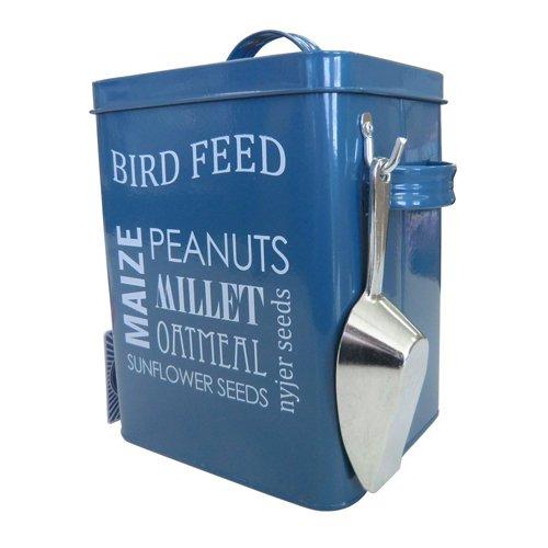 Burgon & Ball Vogelfutter Emaille-Box - Blau
