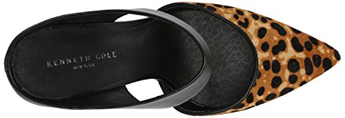 Kenneth Cole NY Wendy Cuir Sandales Natural-Black