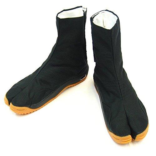 Con cuscino Jikatabi scarpe, nell'aria (Air Jog) 6 Clips - direttamente dal Giappone (Marugo) Black