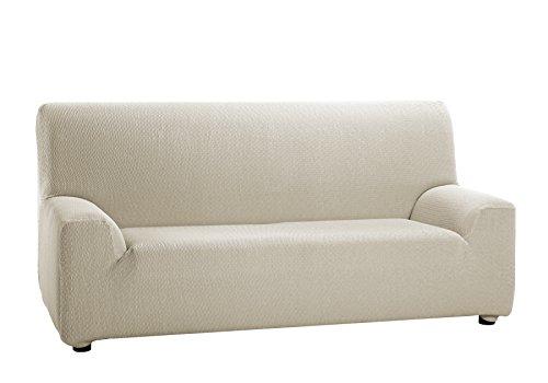 Martina Home Tunez - Funda elástica para sofá, Marfil, 3 Plazas (180-240 cm)