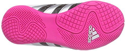 adidas Ace 15.4 In J, Scarpe da Calcio Bambino Nero (Core Black/Matte Silver/Shock Mint S16)