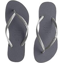 Havaianas Slim Flatform, Infradito Donna, Grigio (Steel Grey 5178), 37/38 EU