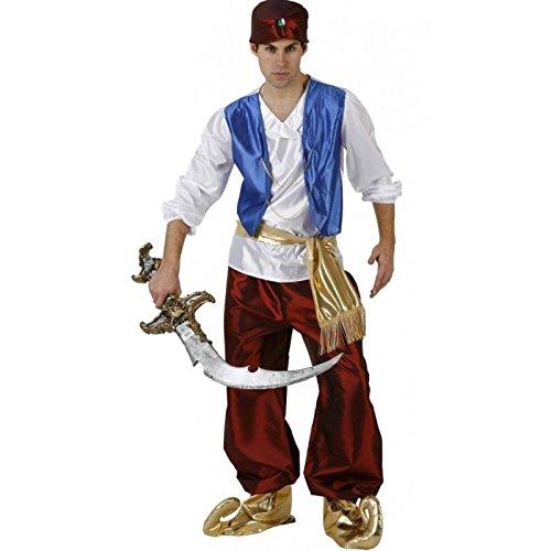 Atosa 97122 - Verkleidung Arabischer Prinz, Erwachsene, Größe 52-54 (Arabischer Prinz Kostüm Für Erwachsene)