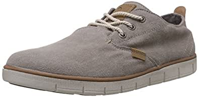 United Colors of Benetton Men's Grey 903 Canvas Sneakers - 11 UK