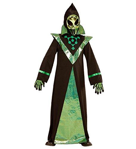 Widmann 03987 - Kinderkostüm Alien, Robe und (Kostüme Alien Kinder)