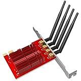 EDUP ep-9609Dual Band 1900Mbps Wireless PCI Express WiFi adattatore 4* 5DBI antenne desktop PCI-E scheda di rete Wi-Fi Win 7/8.1/10