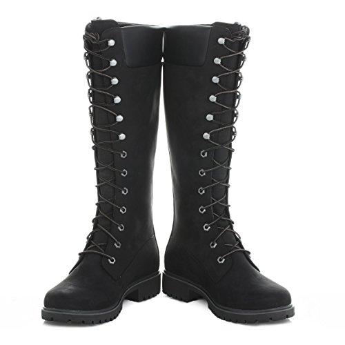 TimberlandWomen's Premium FTW_Women's Premium 14in WP Boot - Stivali classici imbottiti a gamba corta donna Black
