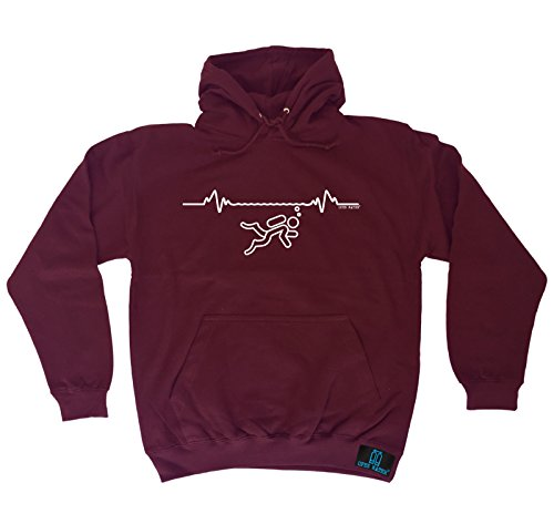 Diving Gift - Diving Pulse HOODIE hoody / scuba diving for sale  Delivered anywhere in UK