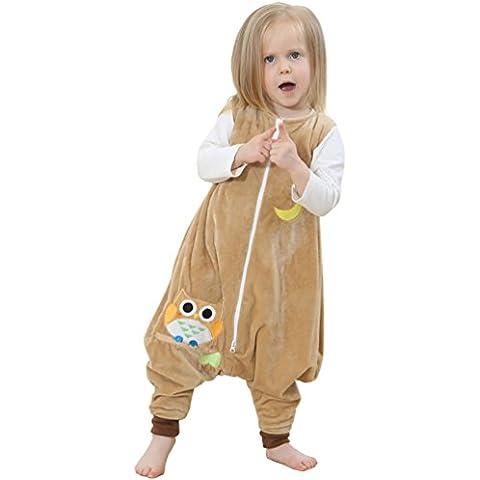 YOUJIA Bebé Animale Albornoz Algodón Pijamas Con Capucha De Baño Mangas Largas Con Patrón S-L