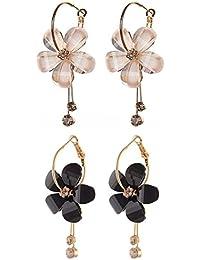 cc5675ae1 Shining Diva Fashion Gold Plated Stylish Fancy Party Wear Earrings For  Women & Girls - Combo