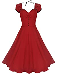 Lindy Bop 'Bella' Classy Vintage 1950's Rockabilly Style Swing Party Jive Robe