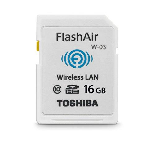 Toshiba FlashAir W-03 SDHC 16GB Class 10 Speicherkarte (Toshiba Windows-xp-notebooks)