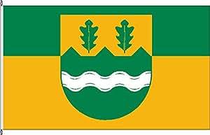 Tischfähnchen Mielkendorf - Tischflaggenständer aus Chrom