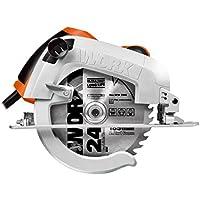 Worx WX445 Sega Circolare, 1600 W, 220 V, Nero, 190 mm