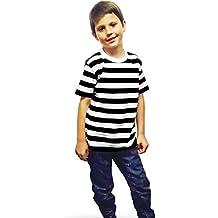 Generic - Camiseta de manga corta - Camiseta - Rayas - para niño