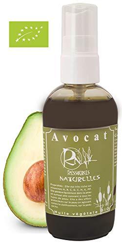 Ressources Naturelles - Huile Avocat Bio 250 Ml