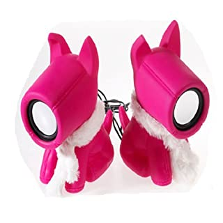 Haut parleurs Stereo S. Dog Pink
