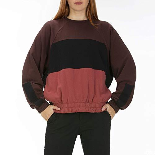 Hurley Damen W OAO Dolman Fleece Pullover, Cedar, S (Hurley-pullover Frauen)