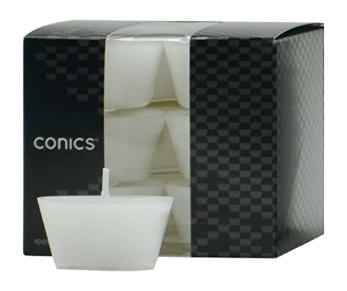 wenzel-kerzen-32-100-conics-100-pure-light-parafina-policarbonato-color-blanco-34-x-47-x-26-cm