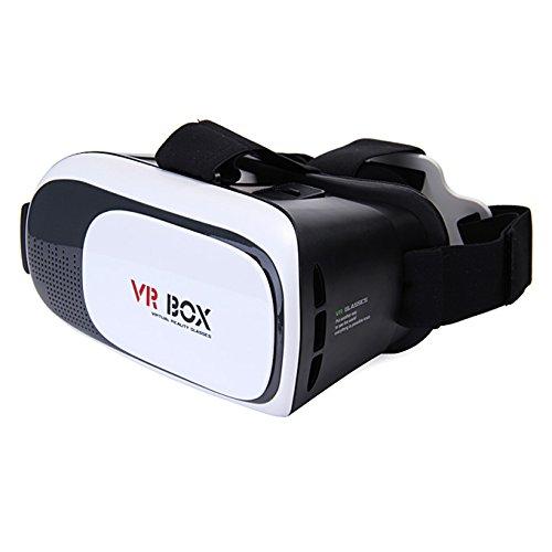 Gokelly 3D-VR-Box Neueste Upgrade-Blu-ray-Augenschutz -Headset Brille Virtual Reality Handy 3D-Filme für iPhone 6s / 6 Plus Samsung Galaxy s5 / s6 / Hinweis4 / Hinweis5 und andere 4.7