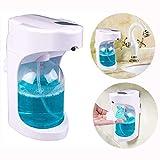 Dispenser di Sapone e Schiuma, Towinle Distributore Automatico di Sapone, Dispenser Sapone Liquido per Cucina Bagno, 500 ML