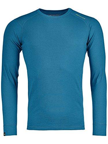 Ortovox Herren 145 Ultra Longsleeve Shirt, Blue Sea, L