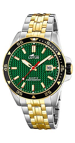 Orologio Lotus uomo 18652/2Acciaio bicolore