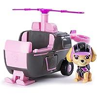 Paw Patrol 6037968 Paw Vehicle - Hélicoptère de Mission de Skye