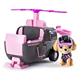 The Paw Patrol pups are ready to save the day in their Mission Paw vehicles! Skye's Helicopter features a propeller that spins and wings that move up and down. The pup figure can ride inside the vehicle! Collect each adventurous Paw Patrol character ...
