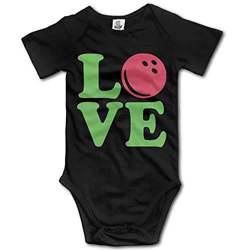 Girls Ribbed Tank (ZMYGH Bowling Love Ball Newborn Baby Boys Clothing Short Sleeve Infant Bodysuit Onesies)