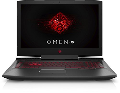 OMEN by HP 17-an029ng (17,3 Zoll / extensive HD IPS) Gaming Laptop (Intel center i7-7700HQ, 1 TB HDD, 128 GB SSD, 8 GB RAM, NVIDIA GeForce GTX 1050 Ti 4 GB, Windows 10 home 64) schwarz DE