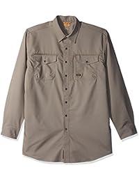 Ariat Men's Big and Tall REBAR Long Sleeve Work Shirt