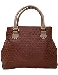 Shankar Produce -Fashionable Ladies Genuine Leather Bag - Stylish Hand Bag - Designer Bag - Hand Held Bag - Color...