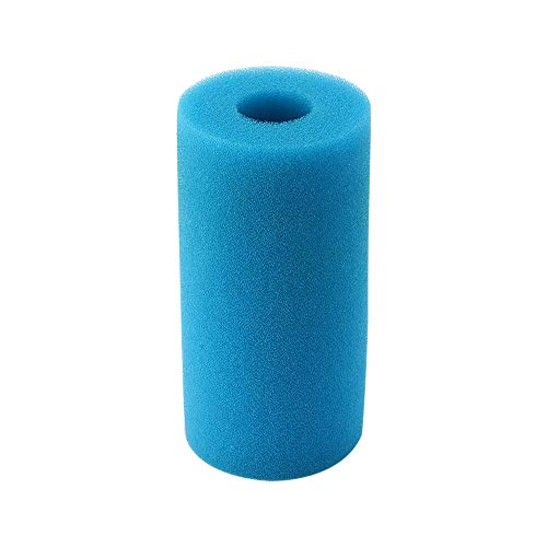 Konesky Filtro Acqua Piscina Intex Tipo A Spugna Lavabile Riutilizzabile con Cartuccia filtrante per Piscina