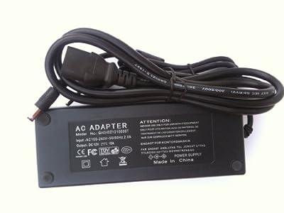 12V, 10A Netzteil Trafo (120W) mit CE und RoHS für LED Streifen Stripes, LED Bildschirm, Notebook, Laptop, 5,5mm 2,5mm