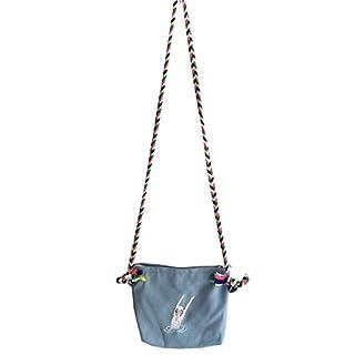 Aixin Pouch Gürteltasche, Schulter Umhängetasche, praktische Damen Herren Doppelschicht Zipper Cross Body Schultertasche Handtasche Taschen Hüfttasche Pocket Bag Holster Handtasche mit (Grau)