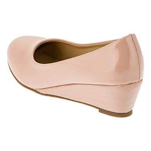 Max Shoes, Scarpe col tacco bambine #152rs Rosa